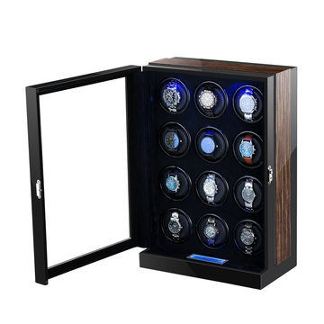 12 watch winders with led light