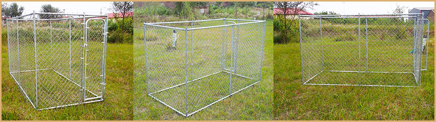 chain link dog kennel (2)