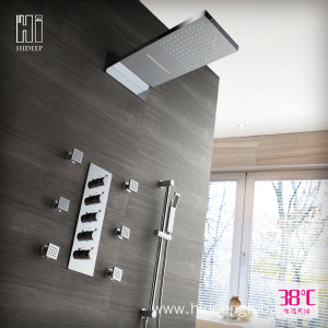 Wholesale Dealers of for Single Handle Thermostatic Shower Faucet HIDEEP Thermostatic Two Function Wall Mounted Shower Faucet supply to United States Exporter