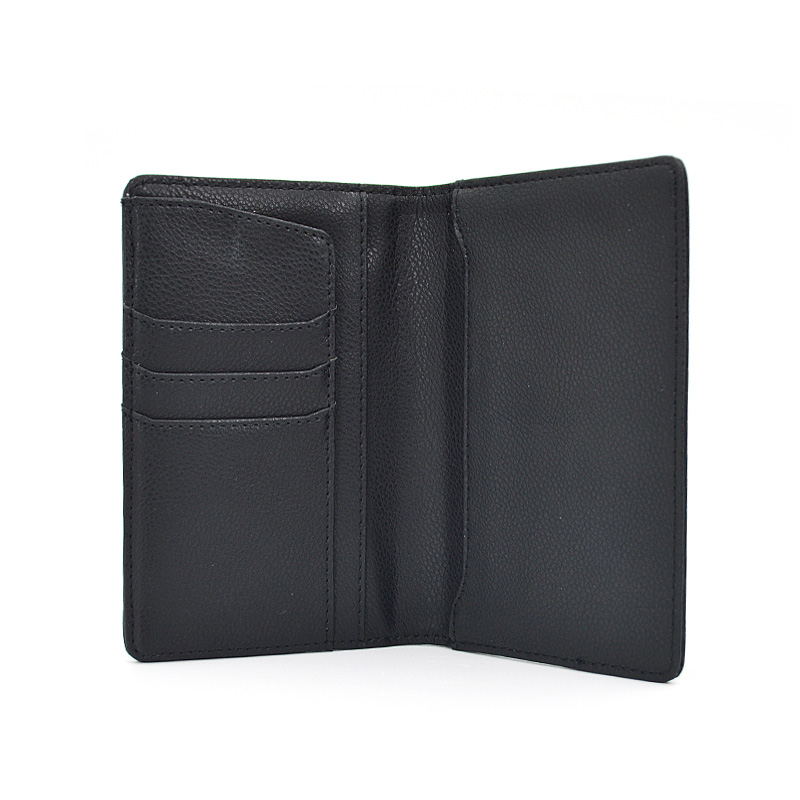 Useful Travel Leather Wallet Trip Passport Card Holder