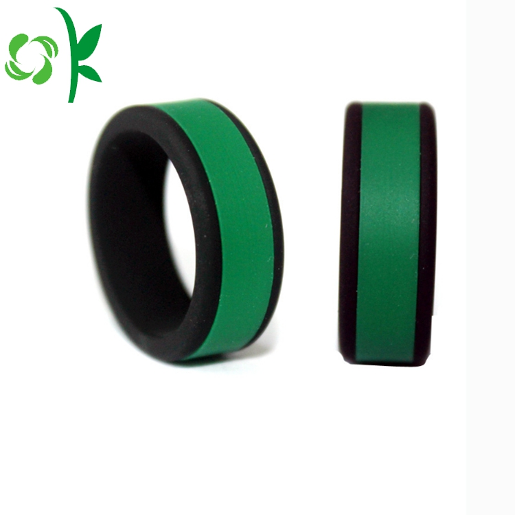 Deep Green Silicone Ring