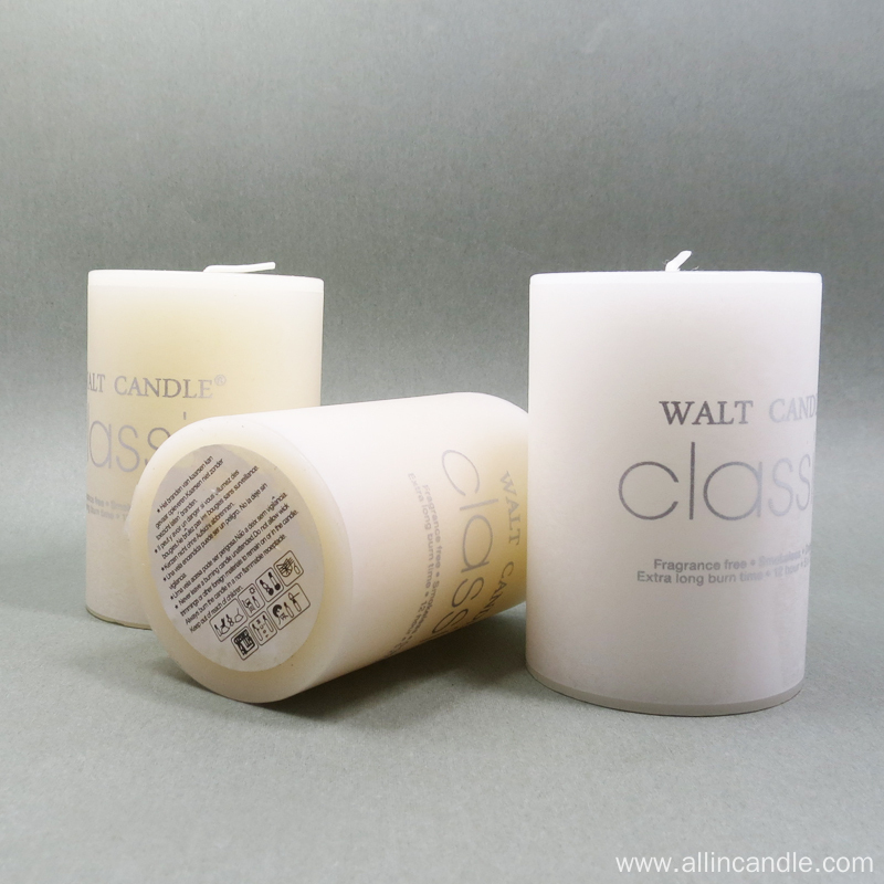 Customized Wedding Party Decoration Pillar Candle
