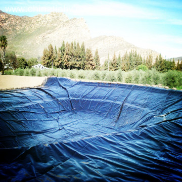 Geomembrane made from high grade polyethylene