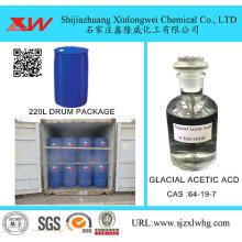 Goods high definition for Solvent Can Glacial Acetic Acid For Textile Use supply to India Importers