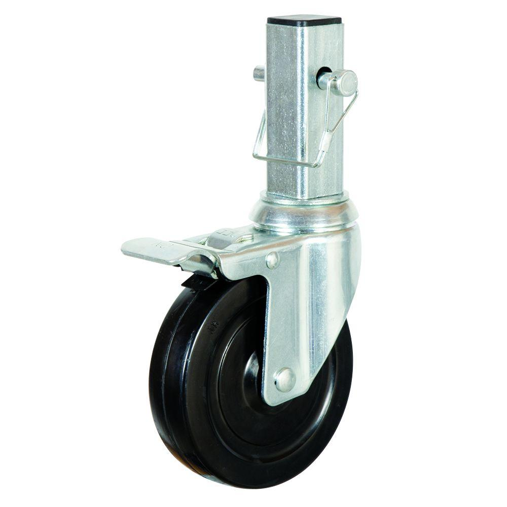 5 inch locking scaffolding caster wheels