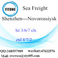 Shenzhen Port LCL Consolidation To Novorossiysk