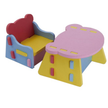 ODM for EVA Kid Furniture,EVA Kid Furniture Toy,EVA Kids Table Manufacturers and Suppliers in China Customized Environmental EVA Chair and Desk Set supply to South Korea Exporter