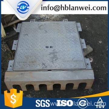 Quality Inspection for Circle Manhole Cover cast iron ductile iron gully grate supply to France Factory