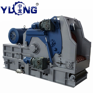 YULONG T-Rex65120 diesel wood log chipper