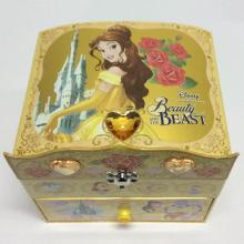 Cheapest Factory for Paper Jewelry Boxes,Paper Jewellery Boxes,Jewelry Box Manufacturers and Suppliers in China Paper diamond princess style jewelry storage box supply to South Korea Wholesale