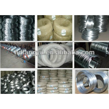 Galvanised Round Wire 0.23mm for pan mesh scourer