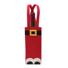 Christmas santa claus wine bottle bag
