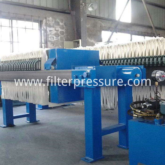 Manual Hydraulic Filter Press