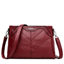 High quality fabric leather lady hand bags