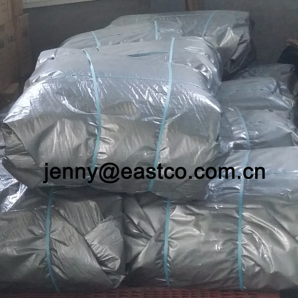 UV Silver Tarpaulin Bale Packing