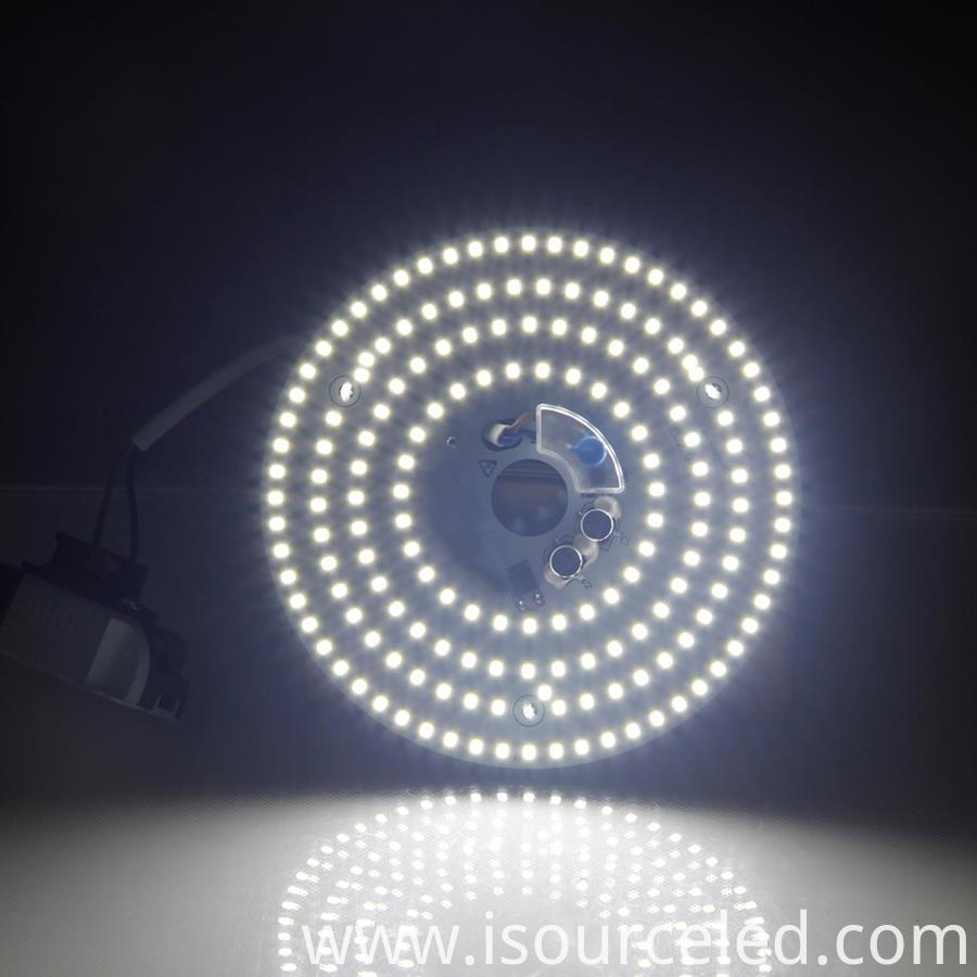 RED SMD LED module product power-on luminous diagram
