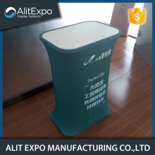 Portable commercial pop up counter display stand