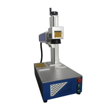 Auto Parts Fiber Laser Marking Machine