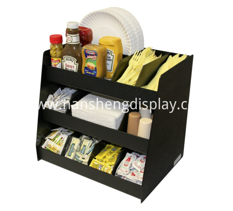 Cafe Coffee Condiments Holder