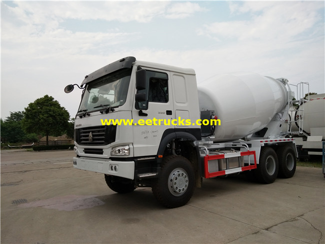6000L Transit Mix Trucks