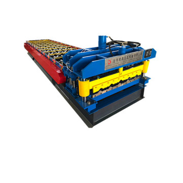 metal glazed steel profile roll forming machine price