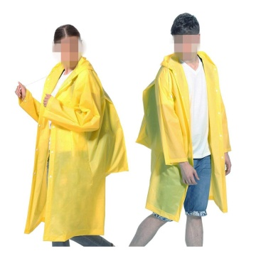 OEM for EVA Raincoat Unisex Raincoat Reusable Rain Poncho supply to Japan Manufacturers