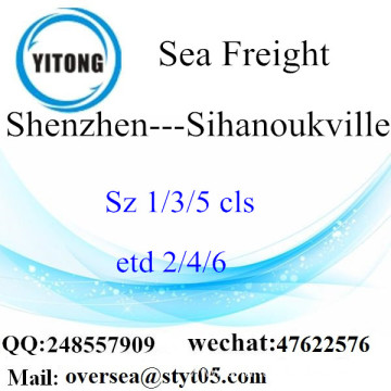 Shenzhen Port LCL Consolidation To Sihanoukville
