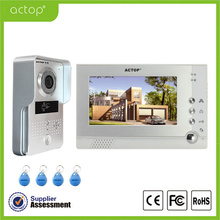 colour video door phone intercom for home
