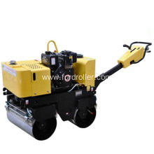 China for Manual Roller Compactor Mini Double Drum Vibratory Road Roller FYL-800C export to Cambodia Factories