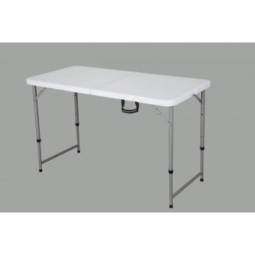 4FT Fold In Half Rect Table