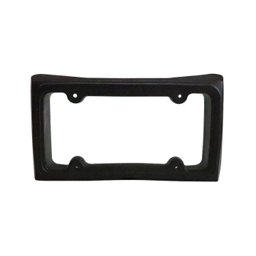 Car bumper guard protector license plate cover