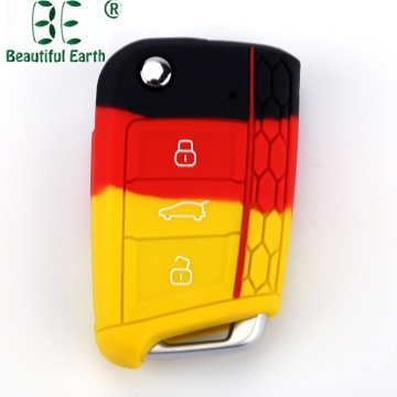 Vw Golf 7 Silicone Rubber Car Key Case