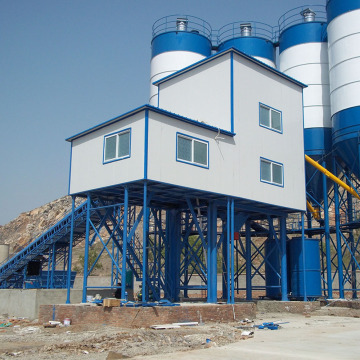 Belt type  Italian concrete batching plant