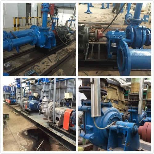 Processing Coal Pumps