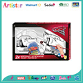DISNEY&PIXAR CARS canvas coloring set