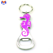 Metal horse bottle opener keychain in bulk