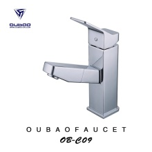 Bathroom Grand Elegant Pull Out Basin Faucet Tap