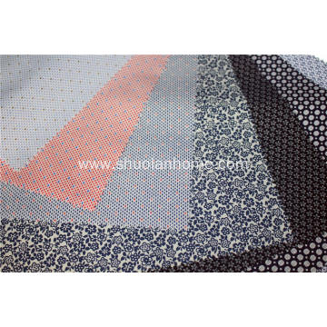 80% polyester 20% cotton printed fabrics