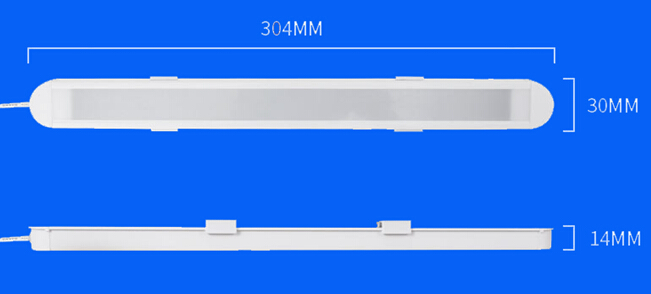 Magnet Screw Locking USB LED Dormitory Light