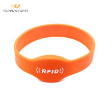 China Manufacturer for RFID Festival Wristbands 74mm MIFARE Classic RFID Silicone Wristband export to Sao Tome and Principe Factories
