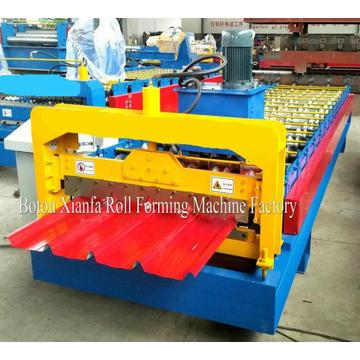 Color Steel Ibr Roof Roll Forming Machine