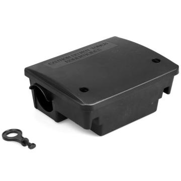 PP injected tamper proof rat bait station HDBT009