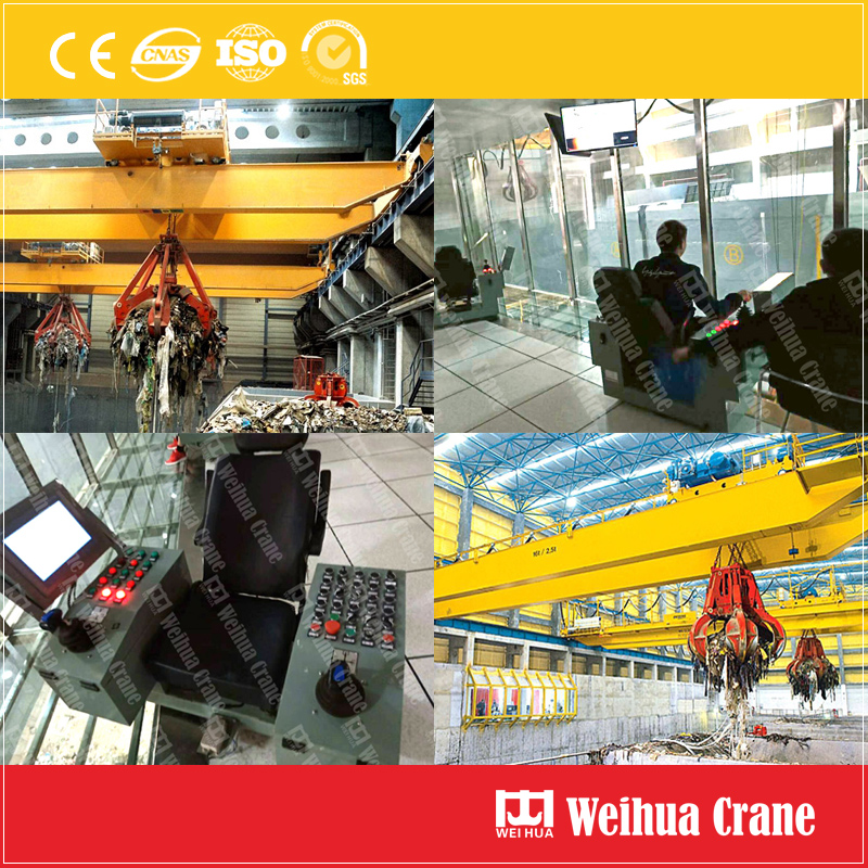 Waste-Incineration-Overhead-Crane