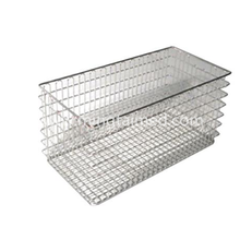 Stainless steel sterilization basket
