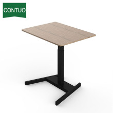 Factory directly sale for One Leg Standing Desk Office Adjustable Standing Computer Study Table With Leg supply to India Factory