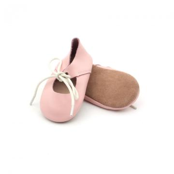 Soft Sole Leather Baby Girl Casual Shoes