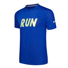 T-shirt sportiva O-collo quick dry