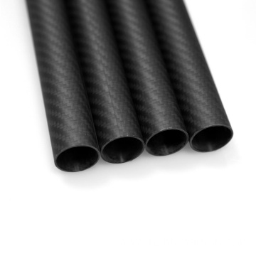 20x18x1000mm 3K Carbon Fiber Fabric Tube Quadcopter nga mga bukton