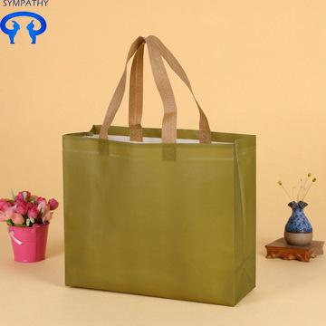 Laminated nonwoven bag with laser cladding bag