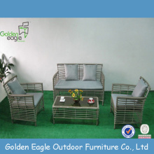 Chinese Professional for Modular Seating,Wicker Sofa Set,Outdoor Sectional Sofa,Garden Outdoor Sofa Manufacturers and Suppliers in China All Weather Rattan Patio Furniture Leisure Sofa supply to Germany Factories